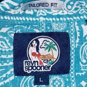 Reyn Spooner🏝 Hawaiian shirt
